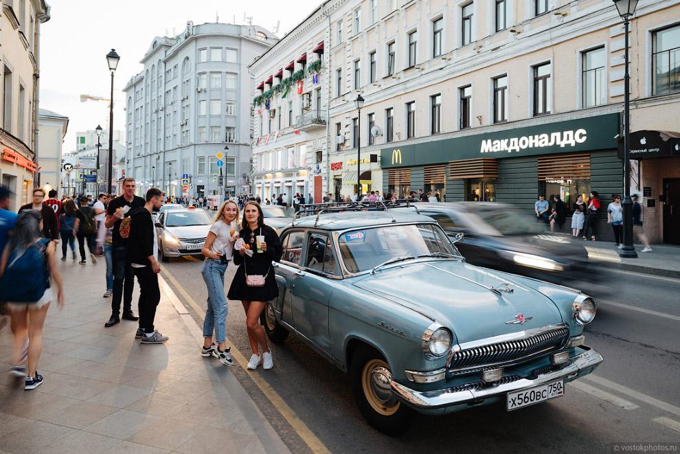 Прогулка по улицам футбольной Москвы