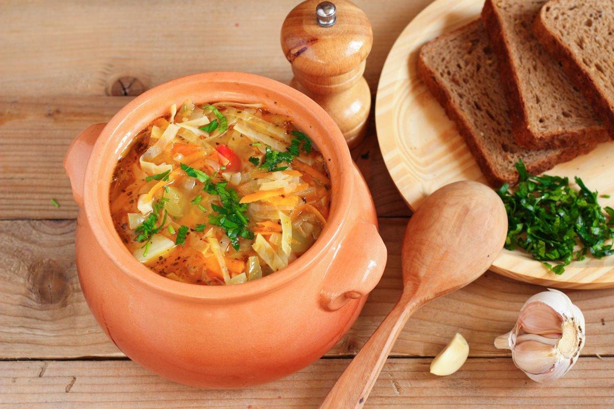 Как приготовить луковый суп с капустой и лимонным соком