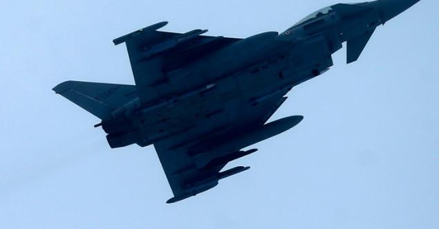Британские ВВС перехватили шесть российских бомбардировщиков над Черным морем