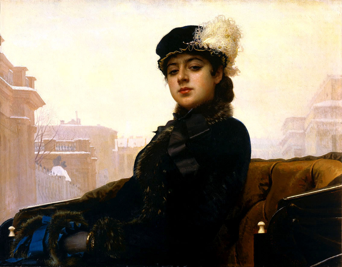 Красота женщины в живописи разных направлений