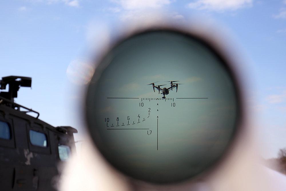 Беспилотный боевой модуль для борьбы с дронами создадут в России