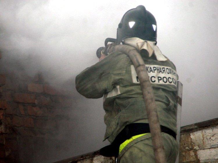 При пожаре на юго-западе Мос…