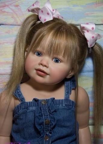 Вот это куклы, такие реалистичные, как живые!