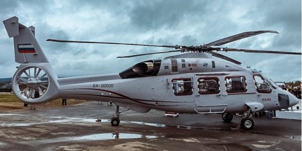 Вертолет Ка-62 получил комплекс связи нового поколения