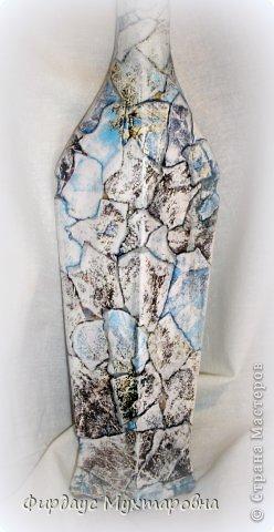 Декор предметов, Мастер-класс Декупаж: Каменные баночки. Имитация. Банки стеклянные, Бумага журнальная. Фото 15