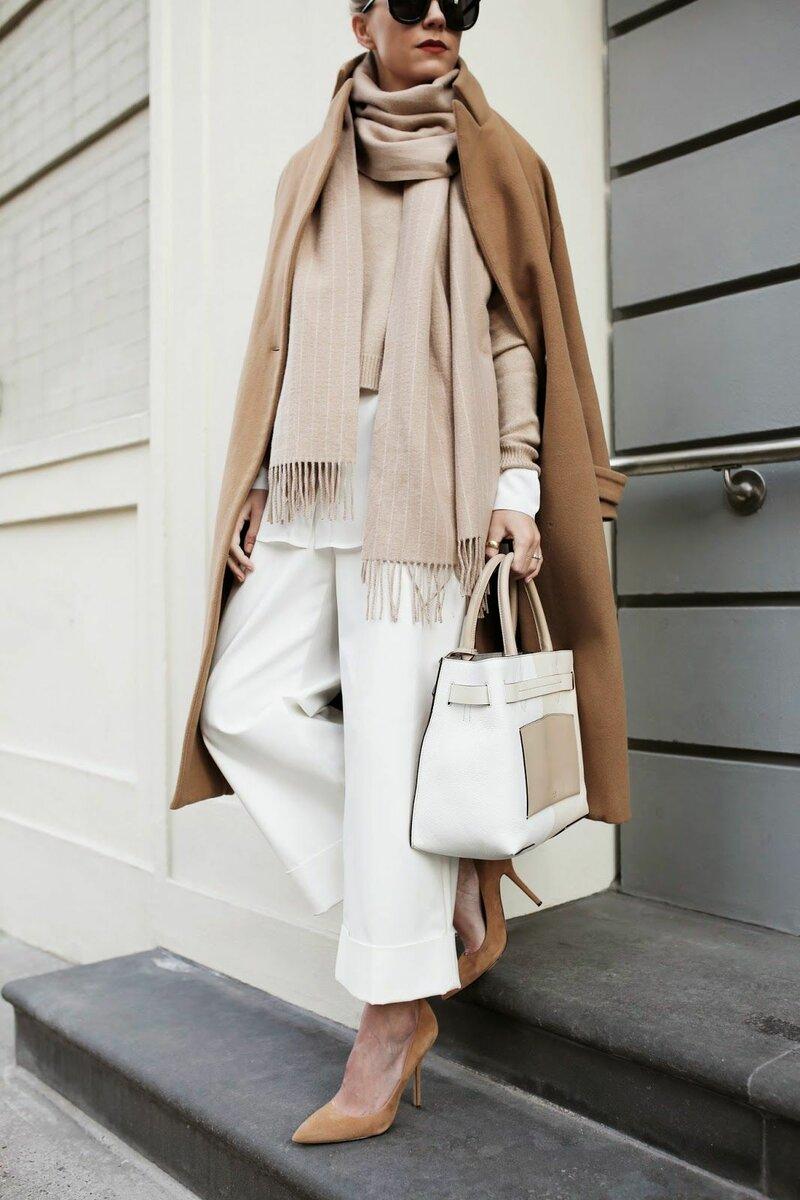 Как правильно носить белую одежду? /Фото: i.pinimg.com