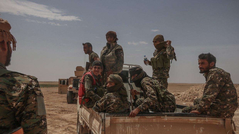 Сирия: курды начали собирать команду для проведения переговоров с Дамаском