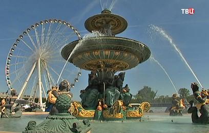 В Париже закрыли знаменитое колесо обозрения