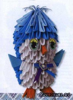 """""""Птенчик"""" - модульное оригами"""