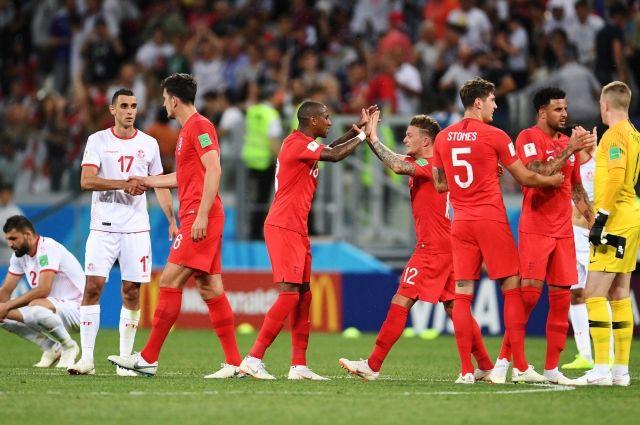 Сборная Англии обыграла команду Туниса со счетом 2:1