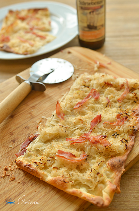 """Зимняя """"пицца"""" или огненный пирог"""