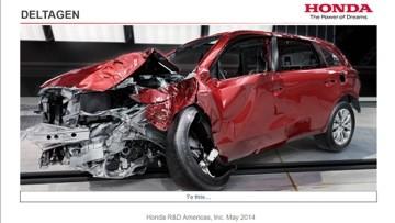 Honda будет разбивать новые машины виртуально