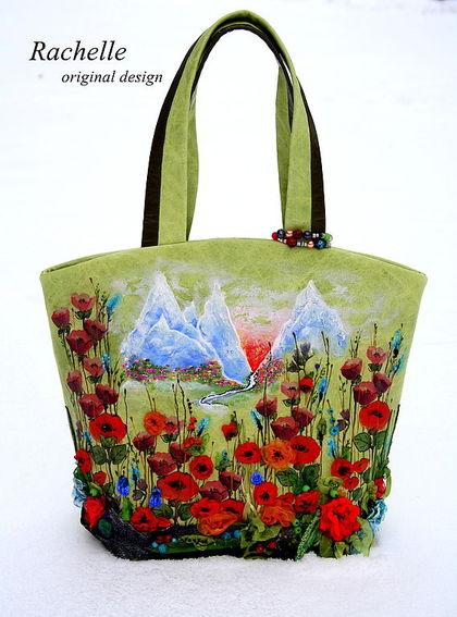 Женские сумки ручной работы. Ярмарка Мастеров - ручная работа Rachelle-Альпийские луга. Handmade.