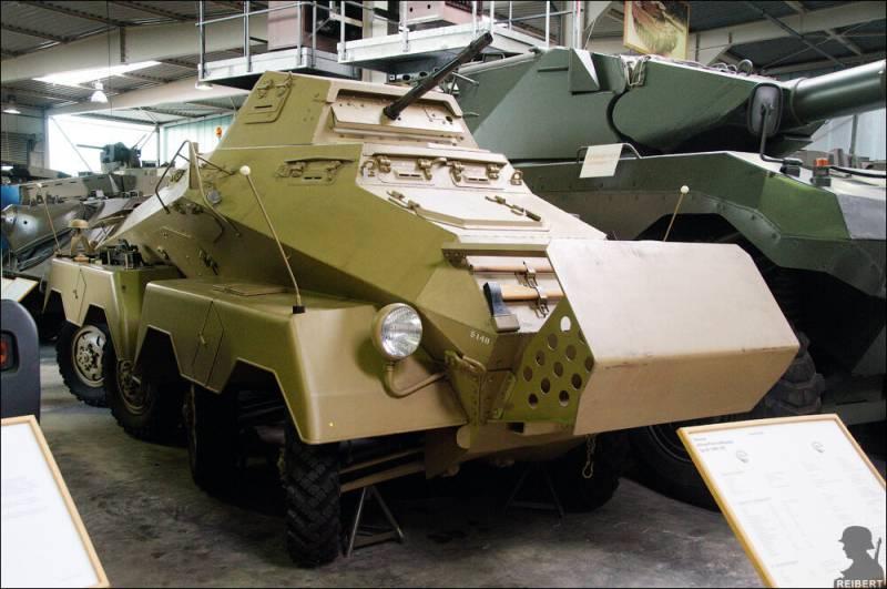 Radkampfwagen 90. Немецкий взгляд на колёсные танки