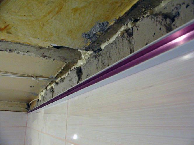 Алюминиевым реечным потолкам своими руками фото