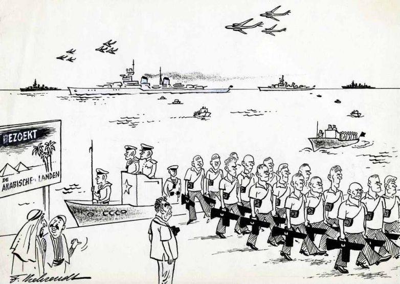 Брежнев и советские «туристы» на Ближнем Востоке (1974 год)