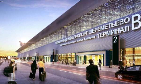 В московском аэропорту загор…