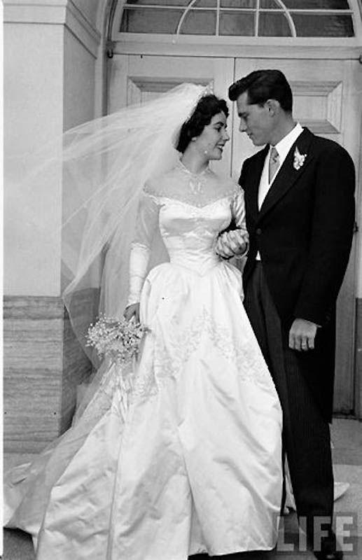Первая свадьба Элизабет Тейлор (18 фотографий), photo:2