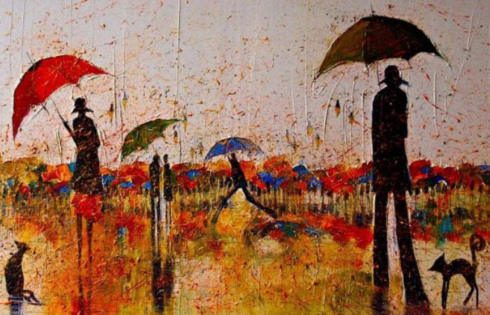 Осенний дождь. Автор: Justyna Kopania.