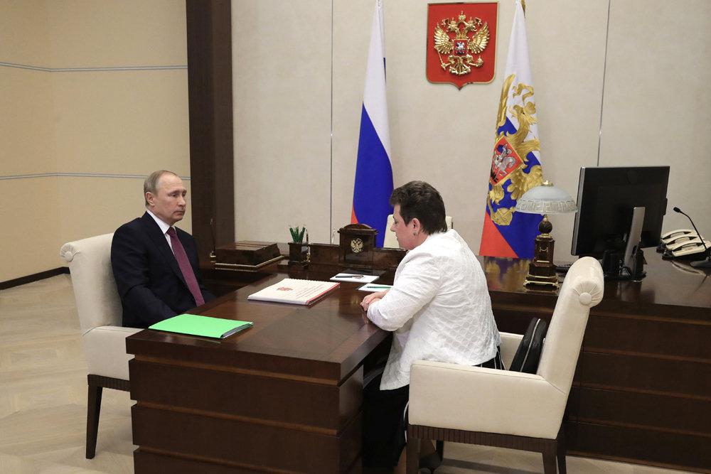 Путин передал жалобы жителей главе Владимирской области