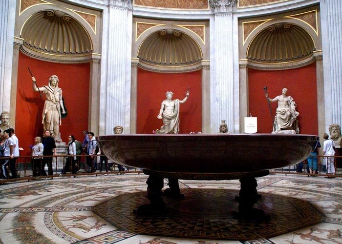 Музеи Ватикана: «Кабинет масок».
