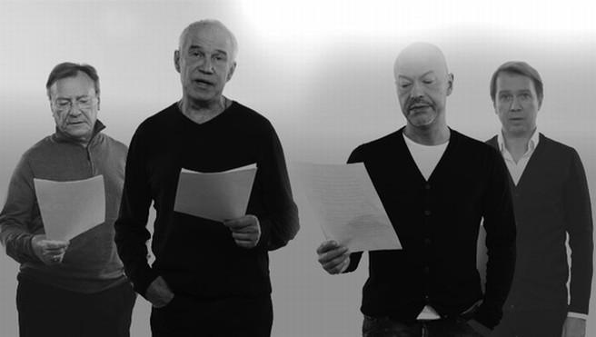 Артисты читают письма блокадного Ленинграда