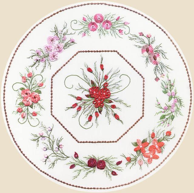 Искусство вышивки -- подборка работ высокого уровня мастерства