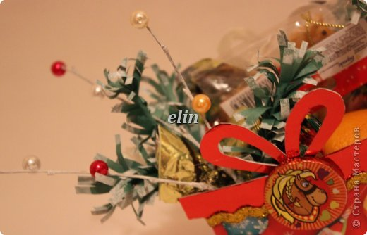 Мастер-класс Свит-дизайн Упаковка Новый год Разные сладкие работы Бумага Материал оберточный Проволока Продукты пищевые фото 11