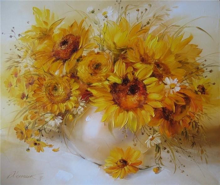 натюрморты цветы-07