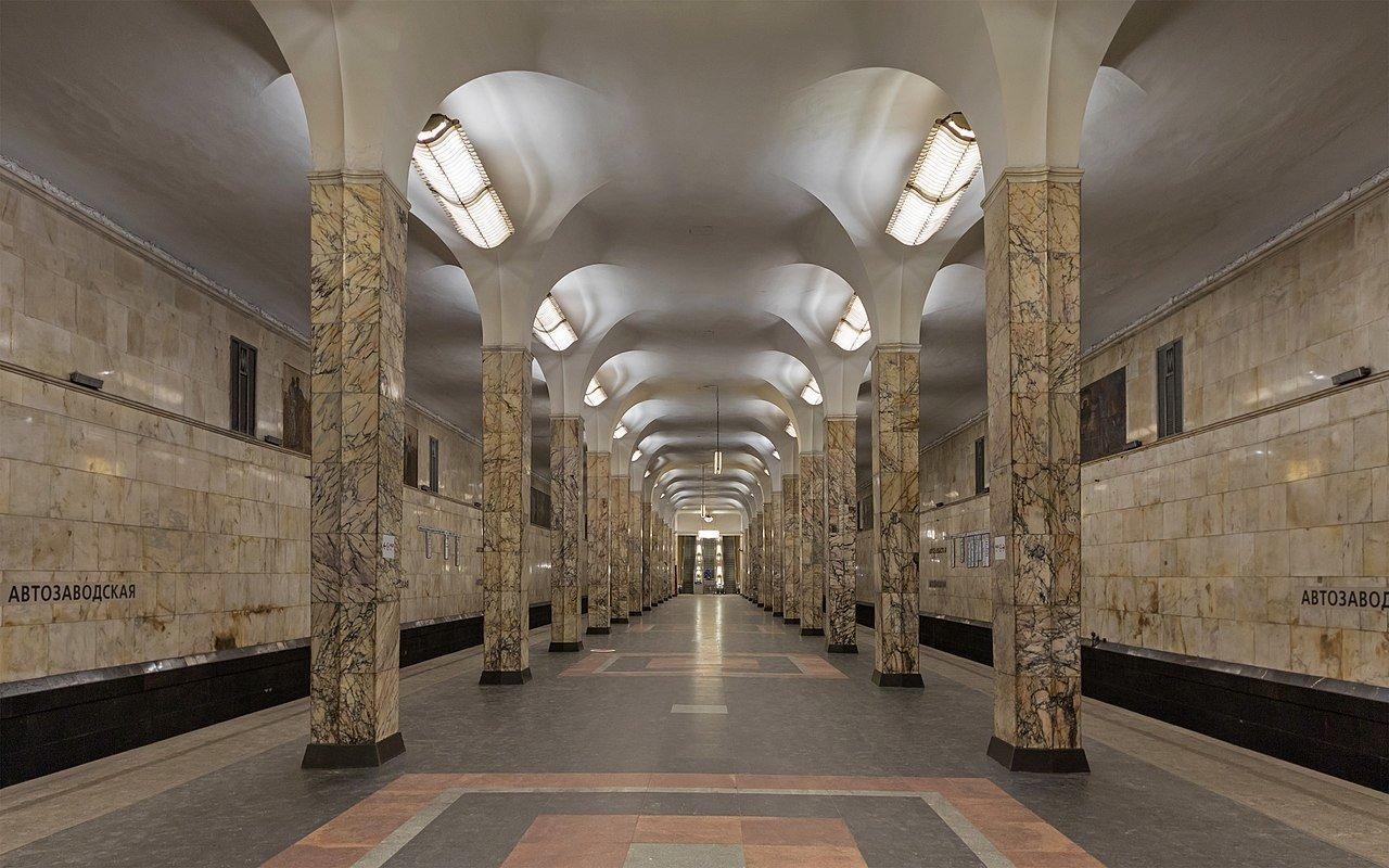 В Москве будет сохранен найденный при реконструкции метро «Динамо» мраморный пол
