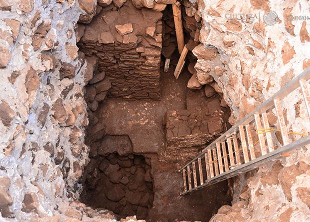 Землетрясение обнажило древн…