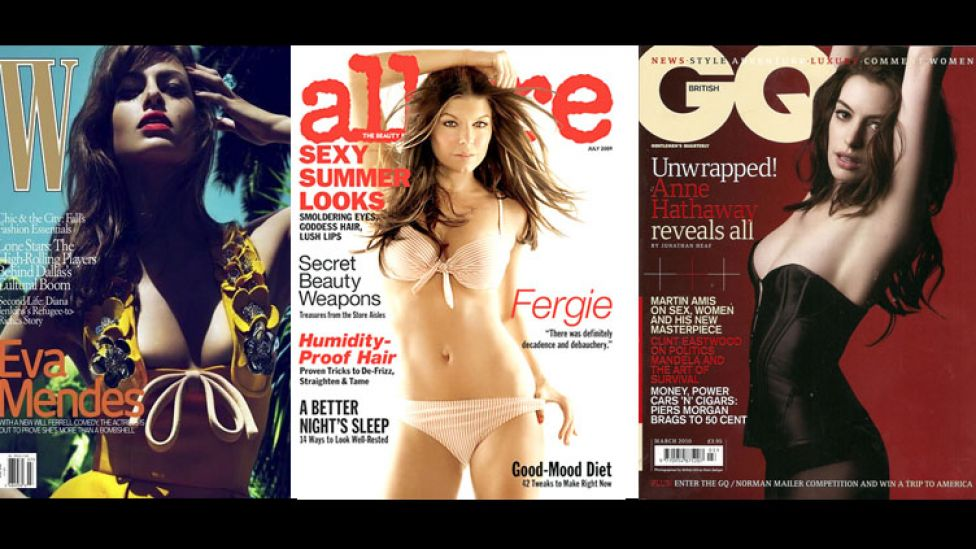 Sexy Celeb Magazine Covers