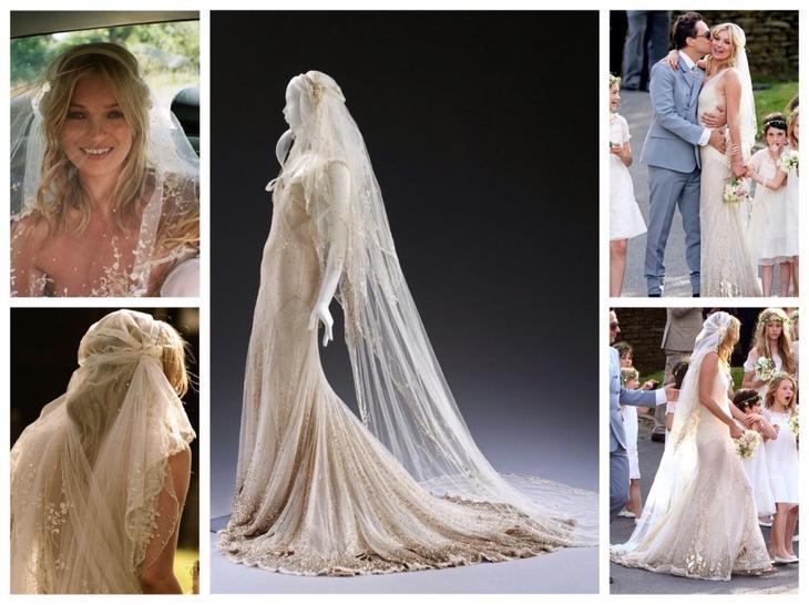 Свадебное платье Кейт Мосс