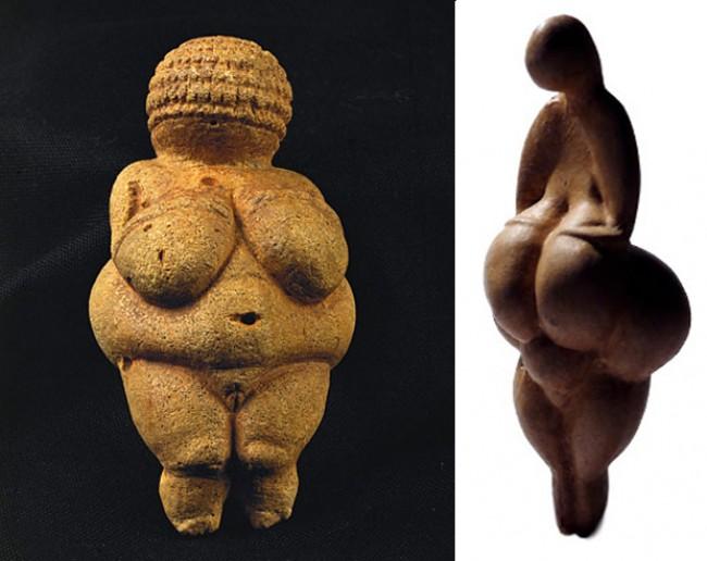 Идеалы женской красоты в разные века