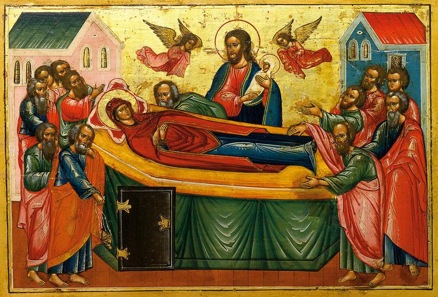 Успение Пресвятой Богородицы Киево-Печерская икона