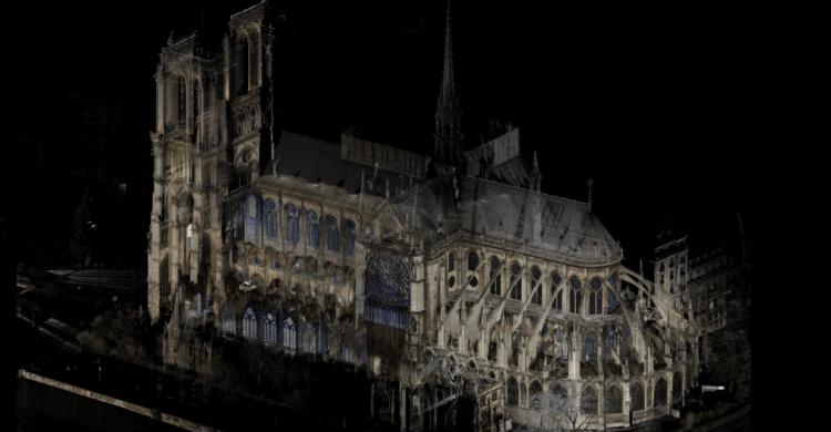 Цифровые сканы 2015 года позволят восстановить Нотр-Дам