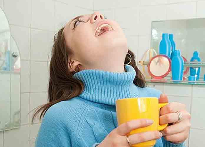 Чем полоскать горло во время ангины или гриппа