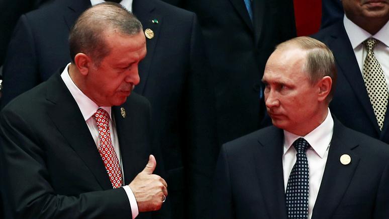Daily Sabah: Эрдоган призывает Россию «вместе избавиться от сирийского зла»