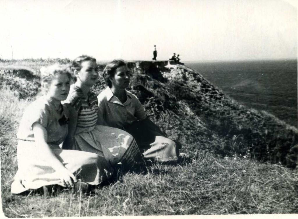 Над Волгой. Лето 1958 года.