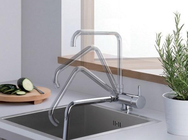 3 функциональных смесителя для кухни