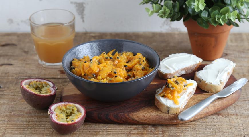 Конфитюр из моркови и маракуйи