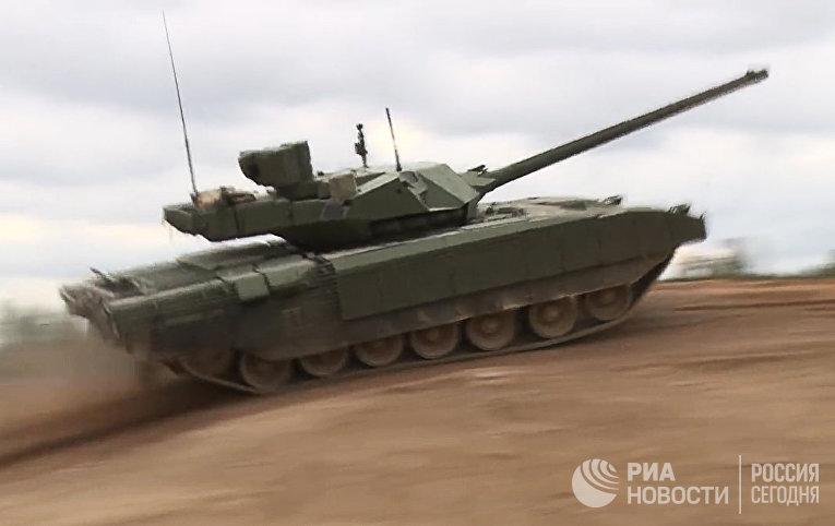 Некоторое количество Т-14 в реальных боевых условиях, могут столкнуться с израильскими танками «Меркава»