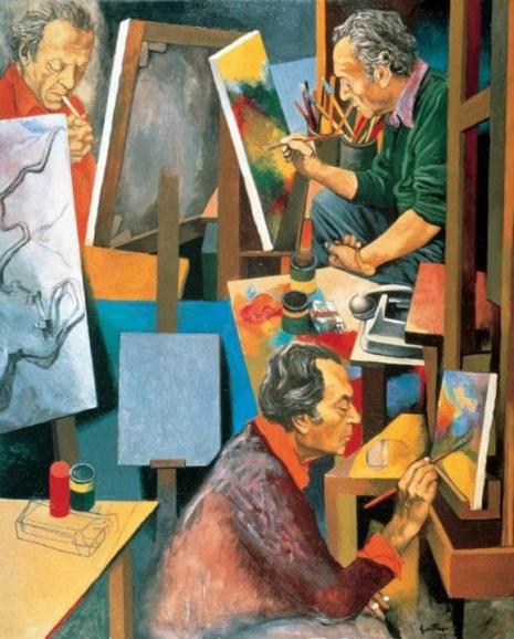 художник Ренато Гуттузо (Renato Guttuso) картины – 17