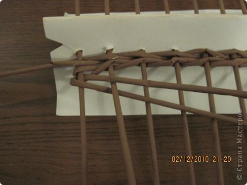 Мастер-класс,  Плетение, : Плетение квадратной (прямоугольной ) коробки Бумага газетная . Фото 10