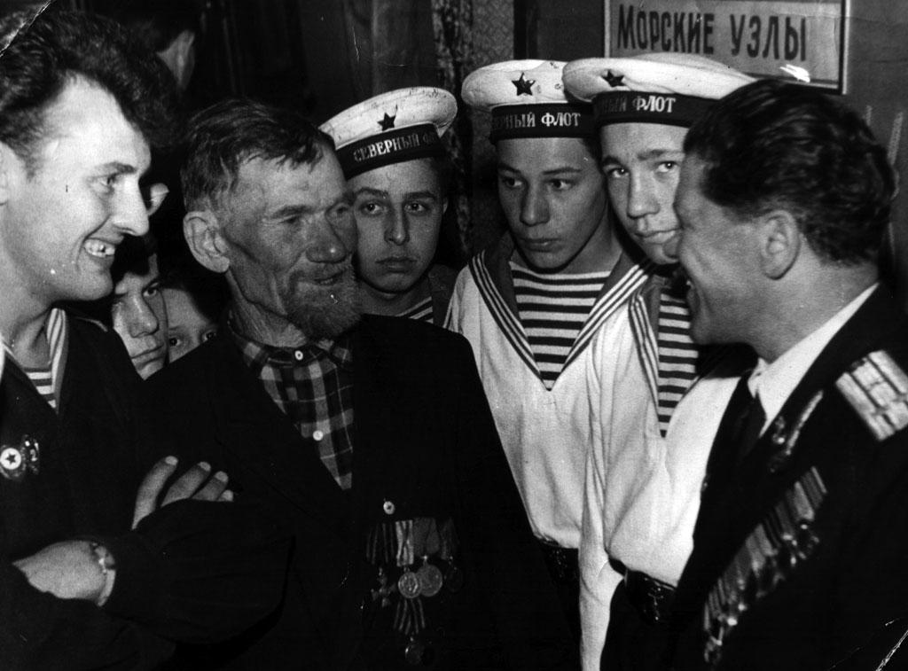 Моряк-ветеран крейсера «Варяг» Шутов Иван Никифорович (2)