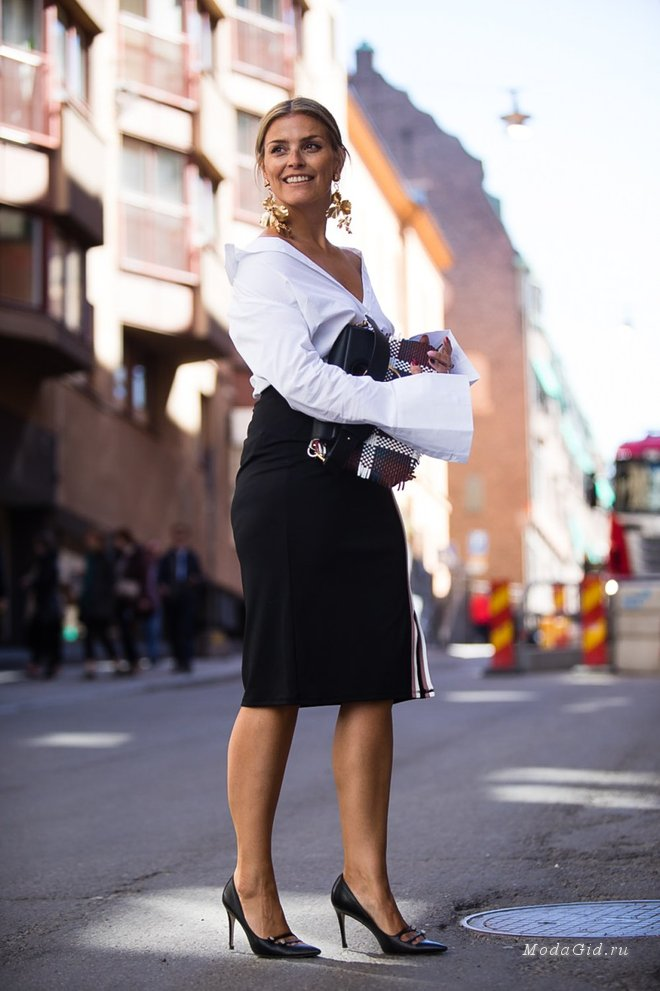 Популярная телеведущая и модный блогер Janka Polliani из Норвегии