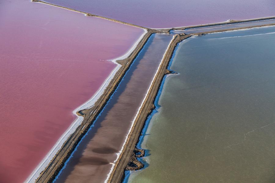 Поразительные фотографии Земли с воздуха