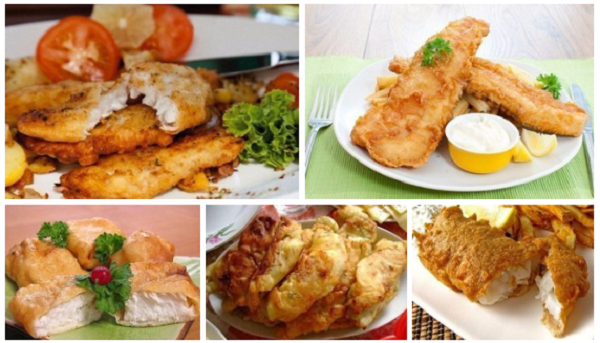 ТОП-6 рецептов кляра для рыбы.