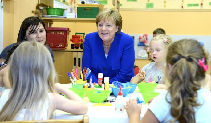 Меркель попала в секс-сканда…