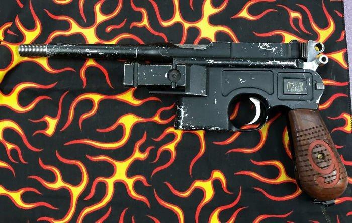 """8. Самозарядный пистолет """"Маузер К96"""" заем, заемщик, залог, имущество, истории, истории из жизни, ломбард, сдать"""